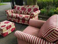 Sofa chair and stool delivery available
