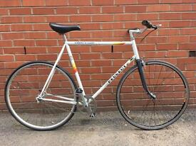 Peugeot Triathlon Mens Vintage Retro Road Bike Single Speed 22 Inch Frame Excellent Condition