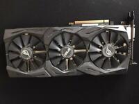 ROG Strix Rgb 1080 Barely used Great Starter GPU