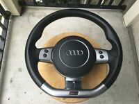 audi rs4 steering wheel a3,a4 golf vw