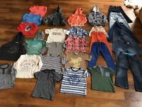 Boys clothes bundle ages 4-6years