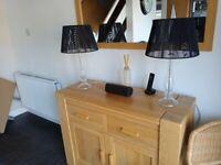 Pair of vintage John Lewis table lamps