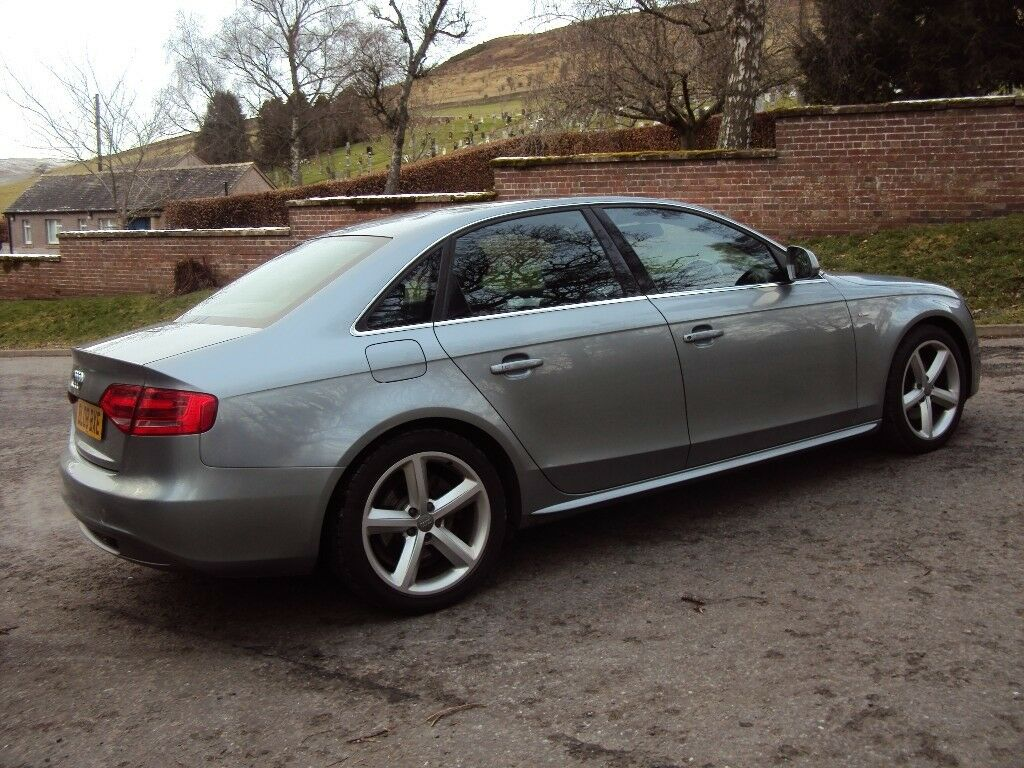 2008 08 Audi A4 Line Tfsi 160 B8 Lovely Low Mileage Car With Just