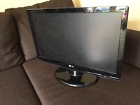 LG flat screen monitor