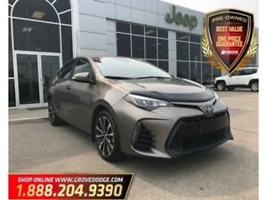 2017 Toyota Corolla XSE| Low KM| Leather| Remote Start| Sunroof