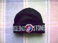 Rolling Stones Steel Wheels 1989 Tour Toque Style Hat..