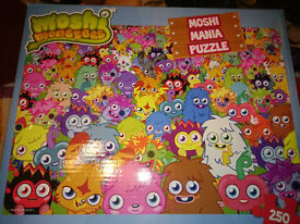 Various Jigsaws. Star Wars. Moshi Monsters. Wallace & Grommit.