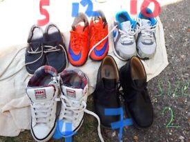 VARIOUS BOYS SHOES AND TRAINERS
