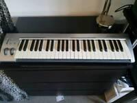 M-audio 49 Keystudio midi keyboard