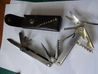 Leatherman multi tool 'Flair' with pouch - as new condition
