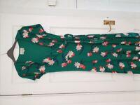 Phase Eight Wrap Dress (size 14)