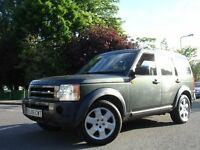 /// LAND ROVER DISCOVERY 3 2.7 TD HSE V6 /// 2005 PLATE AUTOMATIC DIESEL 4X4 JEEP /// SAT NAV /