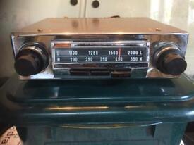 Vintage radiomobile car radio Untested