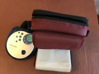 Panasonic portable CD with carrying case with 6 CD slots and Earphones