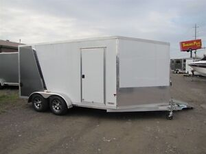 2017 Mission Trailers 7 ' x 19' ALL ALUMINUM SLED TRAILER Peterborough Peterborough Area image 2
