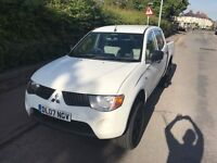 Mitsubishi L200 4 Work NO VAT low mileage