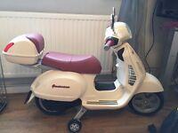 Child's Vespa scooter