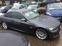 BMW 320i m sport convertible automatic 2008