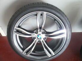 NEW BMW M5 ALLOYS &TYRES