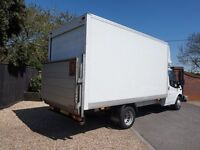 RELIABLE FULLY INSURED REMOVALS **CHEAP PROFESSIONAL MAN AND VAN HIRE**