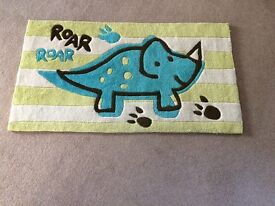 Roaring Dino Rug
