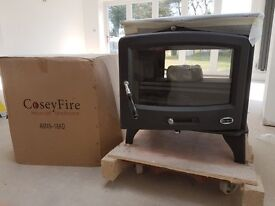 Cosey Fire duel fuel woodburning stove