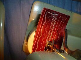 Vintage Bernina 707 Zig Zag Cylinder arm sewing machine with Instruction Manual & Case