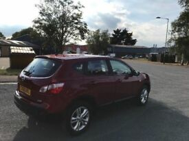 2010 Nissan qashqai 1.5 dci acenta 12 months mot/3 months parts and labour warranty