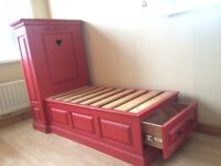 Hand made toddler bed - New