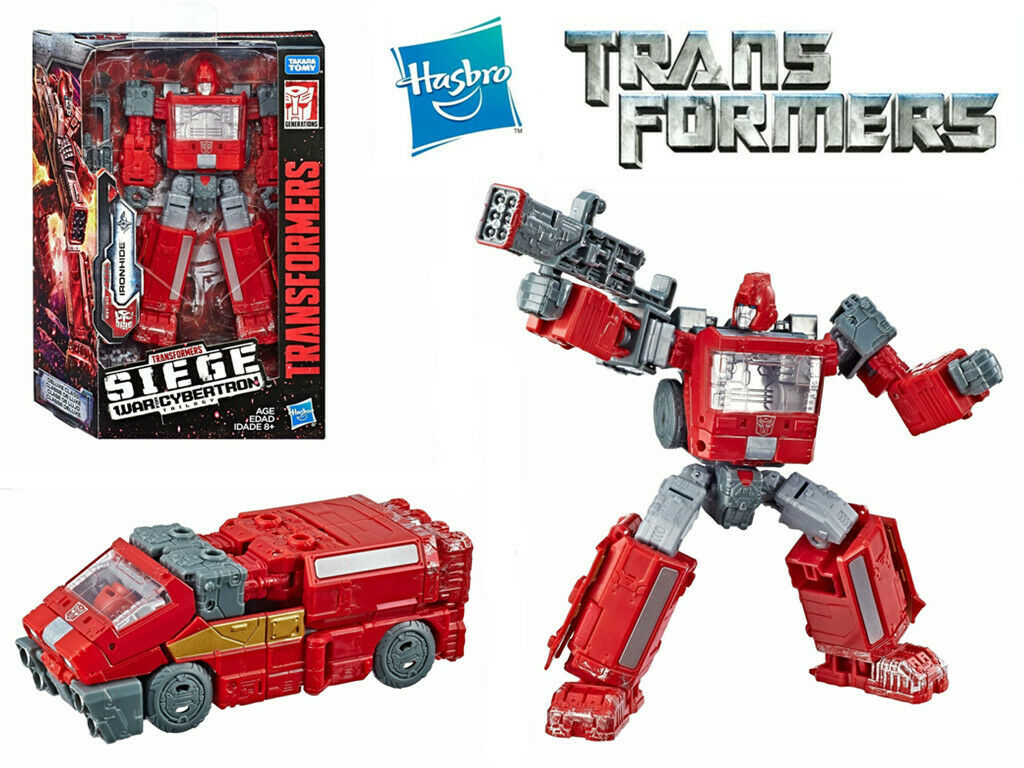 TRANSFORMERS WFC WAR FOR CYBERTRON SIEGE DELUXE IRONHIDE ACTION FIGURE USA