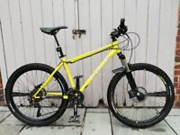 """Mountain bike - 17.5"""" Frame with dropper post, 30 gears & Shimano hydraulic disc brakes"""