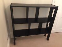 Black Wooden Hall Console Table or Shelves