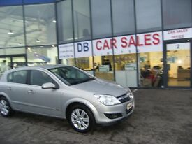 2007 57 VAUXHALL ASTRA 1.6 DESIGN 5D AUTO 115 BHP***GUARANTEED FINANCE***PART EX WELCOME***