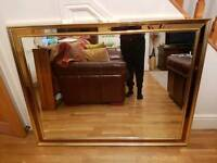 Large Gold Mirror Bedroom / Hall Way. Selling ASAP. Price can be lowered!