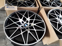 "19"" 5X112 CONCAVE ALLOYS FITS VW SCIRROCO & AUDI A5 A6 ALLOY WHEELS BBS LM RXR (BMW M4 STYLE)"
