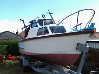 FISHING BOAT 20 ft *****REDUCED IN PRICE****