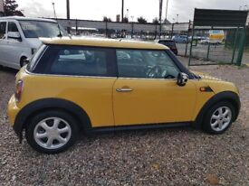 2008 Minui One 1.4 Yellow LOTS OF EXTRAS INC PANORMAIC ROOF amazing condition cooper Low Mileage