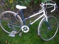 Vintage Raleigh ladies bike.