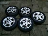 Peugeot 106 GTI Quicksilver Raptor Alloy Wheels