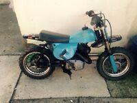 Itlajet 50cc motorbike