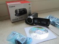 Canon HD camcorder - Legria HFR47 wifi compatible, includes HDMI cable, great condition