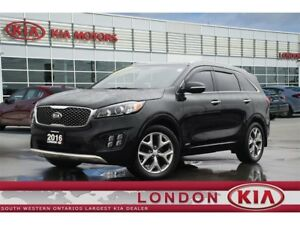 2016 Kia Sorento 2.0L SX - Loaded, 1 Owner, No Accidents