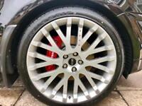 "Kahn 22"" RSX Genuine Alloys with 4 Brand New Tyres"