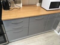 Complete kitchen with units & Cooker.Washing Mach/Drier,Fridge/Freezer,Dishwasher,Extracter.