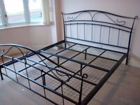 Super King Size Metal framed Bed