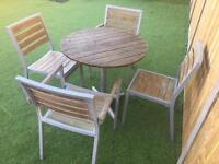 Patio set (delivery available)