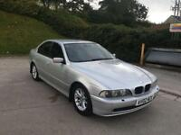 **BMW 530D 3.0 DIESEL AUTOMATIC SILVER (2002 YEAR)**