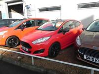Ford Fiesta 1.0 EcoBoost 140 Zetec S Red 3dr (red) 2015