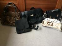 Assorted high end high street bags