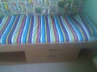 Single cabin bed (frame only no mattress)